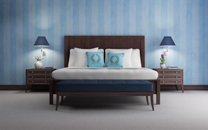 Ordnung im Schlafzimmer hilft zu entspannen